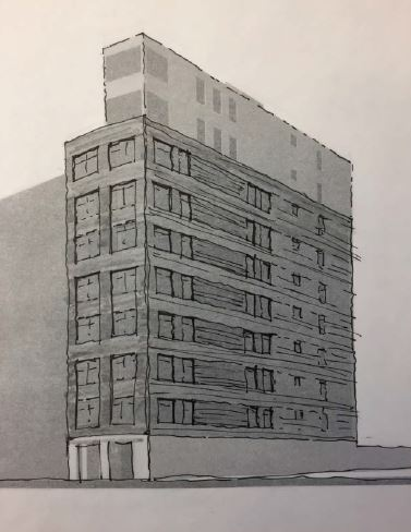 east village condominium building construction