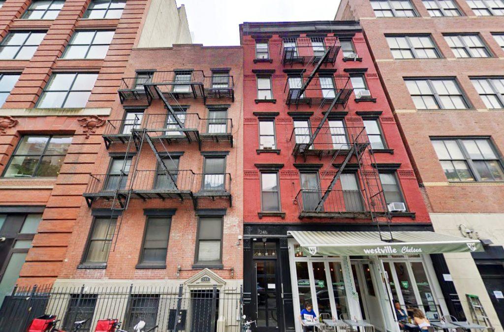 chelsea NY mixed-use buildings