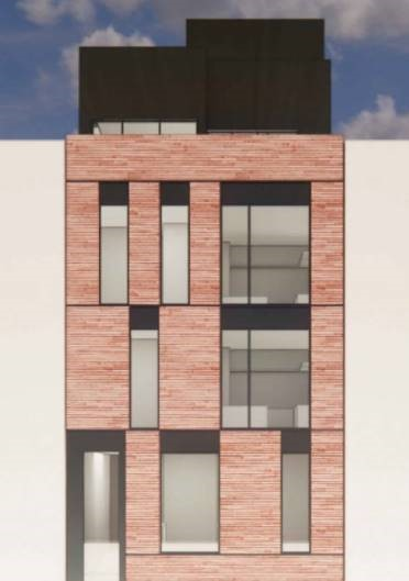 brooklyn condominum building rendering