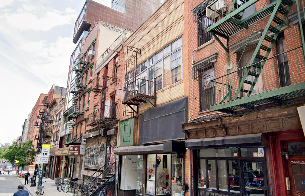 lower east side commercial building