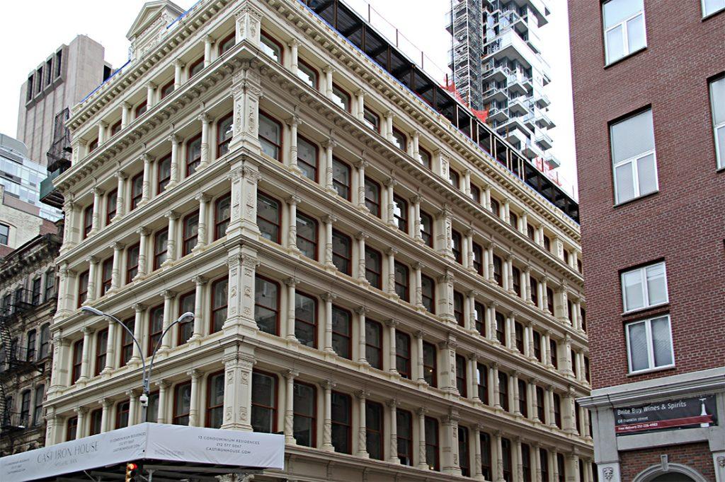 tribeca condo building NY